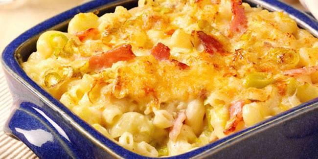 macaroni panggang keju