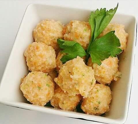 bakso udang wortel